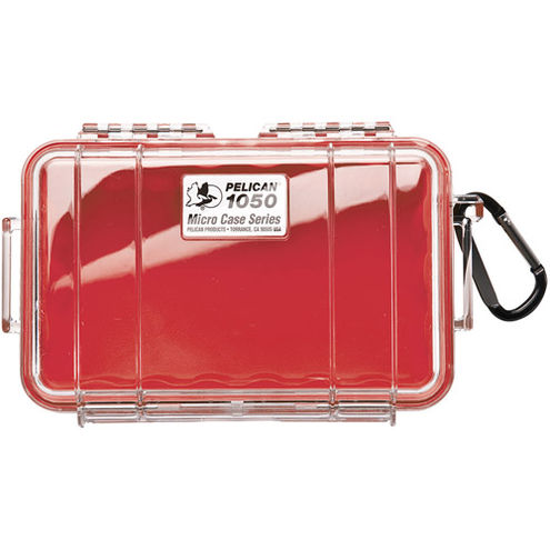 1050 Micro Case Red/Clear