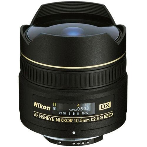 AF DX Fisheye-NIKKOR 10.5mm f/2.8 G ED Lens