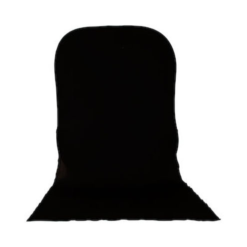 6'x7' Plain Collapsible Reversible Background Black/White with Train