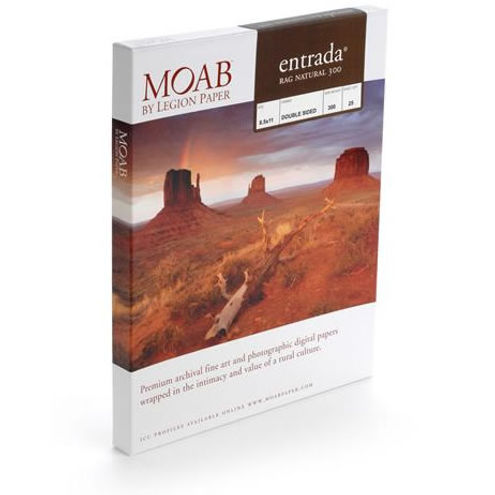 """13""""x19"""" Entrada 300gsm Natural 2 Sided Fine Art Paper - 25 Sheets"""