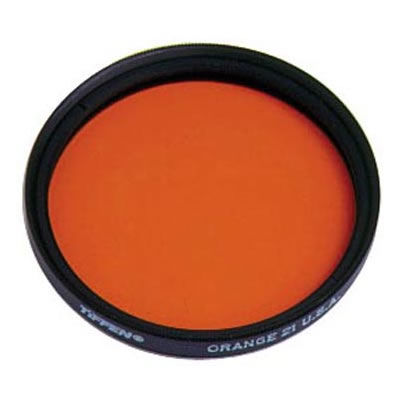 67mm 21 Orange Glass Screw In Filter