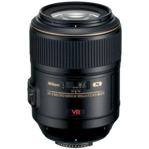 AF-S Micro-NIKKOR 105mm f/2.8 G IF-ED VR Lens