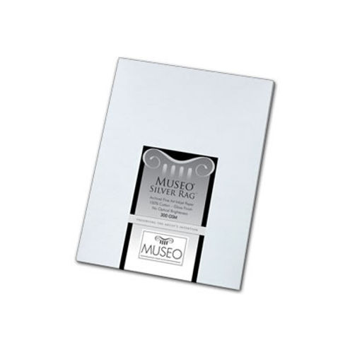 """8.5""""x11"""" Museo Silver Rag 300gsm 25 Sheets"""