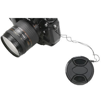 49mm Snap on Lens Cap w/Keeper