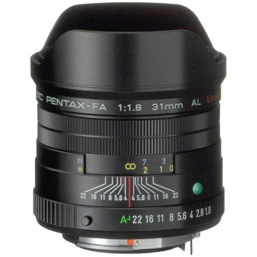 smc P-FA 31mm f/1.8 Lens - Black