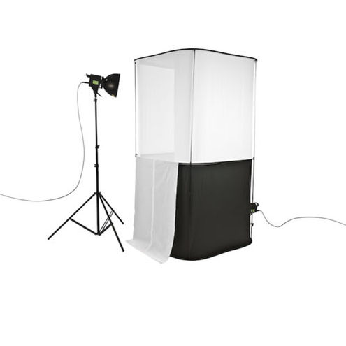 "Cubelite Studio 39"" Kit 100cm w/2xLights,2xStands"