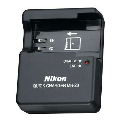 MH-23 Quick Charger For D40/D40x