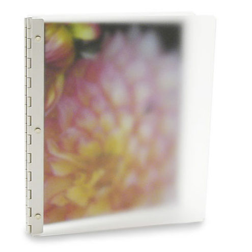 Vista 8.5x11 Portrait Screwpost Binder / Mist