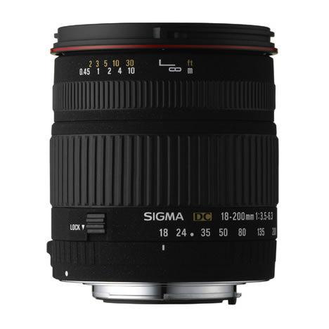 AF 18-200mm f3.5-6.3 DC OS Zoom Lens for Canon