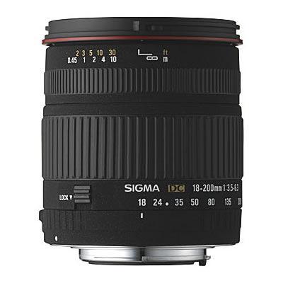 AF 18-200mm f3.5-6.3 DC OS HSM Zoom Lens for Nikon