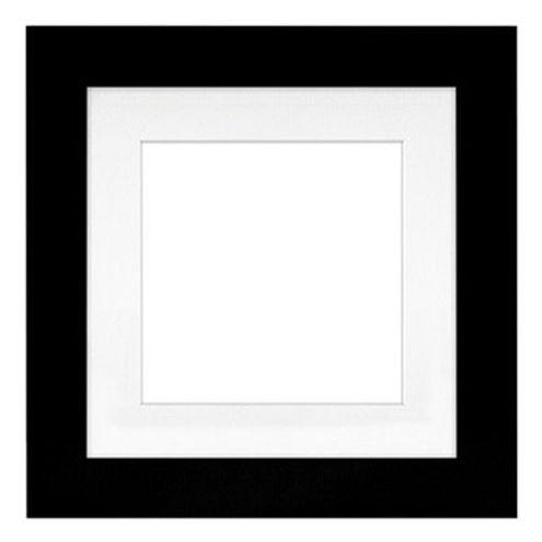 "11"" x 11"" Metro Black Seamless Frame with 8"" x 8"" Single Mat Opening # 20"