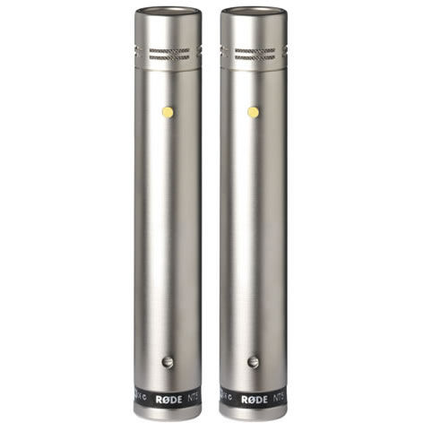 "NT5 Microphone - Matched Pair Acoustically Matched 1/2 caps"" Cardiod Condenser Microphone"