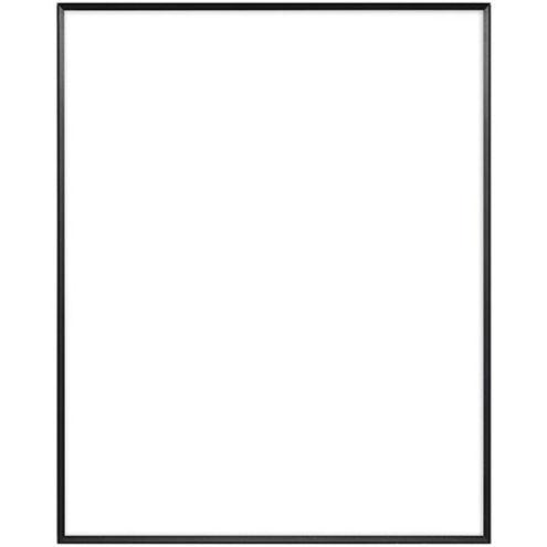 "8"" x 10"" Fineline Black Aluminum Frame with no mat"