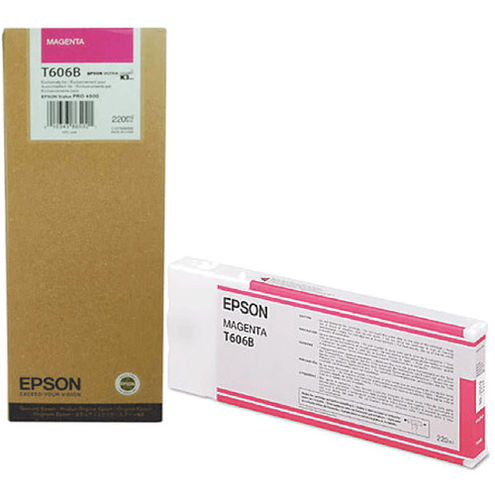 T606B00 Magenta 220ml Ink Cartridge for Stylus Pro 4800