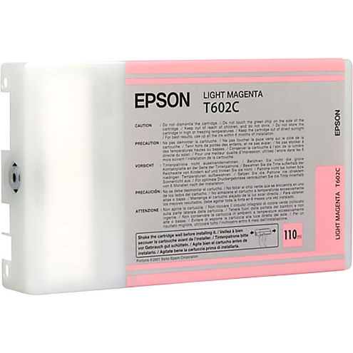 T602C00 Light Magenta 110ml Ink Cartridge for Stylus Pro 7800/9800