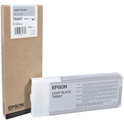 T606700 Light Black Ink 220ml UltraChrome for SP 4800, 4880