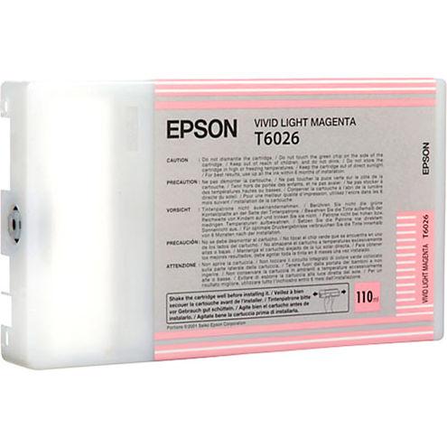 T602600 Vivid Light Magenta 110 ml Ink Cartridge for Stylus Pro 7880/9880