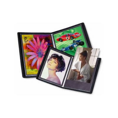 "13"" x 19""  Presentation Book Black Art Profolio Evolution with 24 Pages"