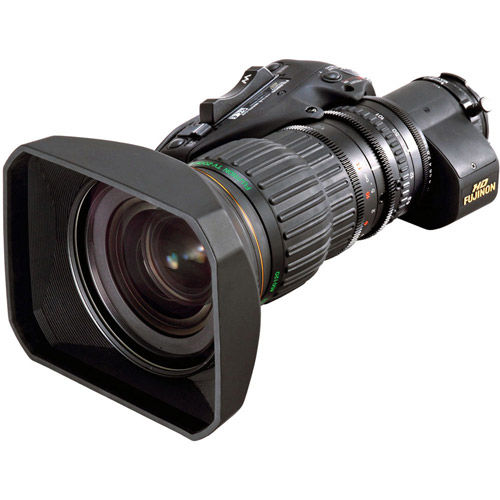 Wide/Long Fujinon HD lens HA16x6.3BERM with 2x extender and semi-servo operation