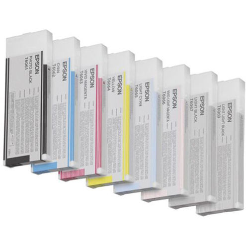 Stylus 4880 Color Ink Set 2007 8 Carts with Photo Black 220ml