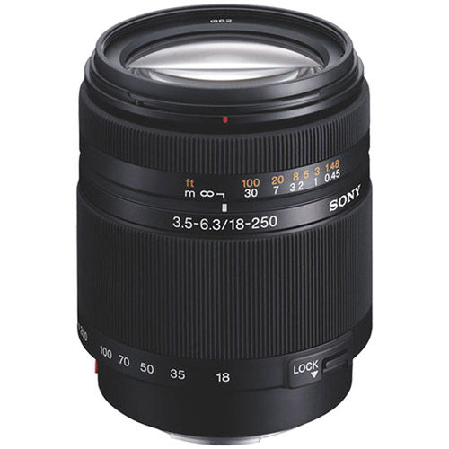DT 18-250mm f3.5-6.3 Telephoto Zoom Lens