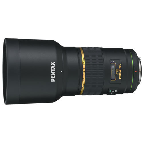 smc DA 200mm f/2.8 ED IF SDM Lens