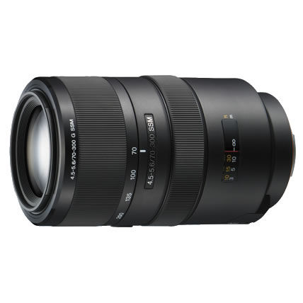 70-300mm f/4.5-5.6 G SSM A-Mount Lens (A99 & A77)