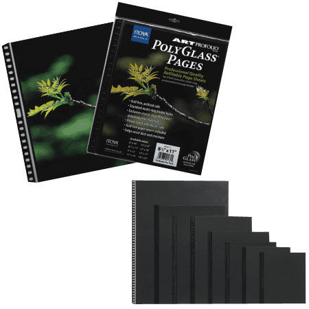 "8-1/2""x11"" PolyGlass Pages photo size, 10 pcs per pack"