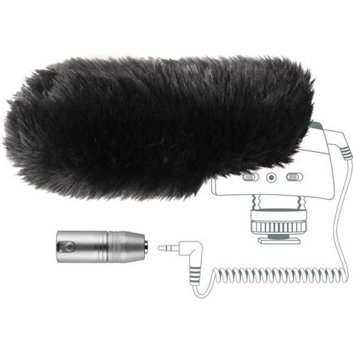 MZW400 Windjammer & XLR Adapter Pro Accessory Kit