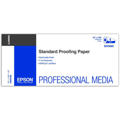 "24"" x 164' Standard Proofing Paper Roll 205gsm"