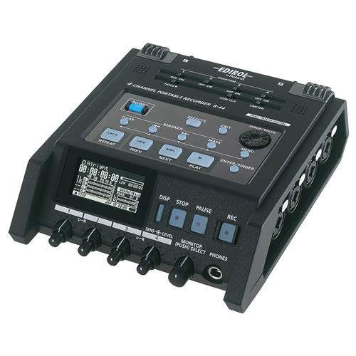 Rent Roland R-44 compact 4-chanel recorder Audio Players/Recorders Canada
