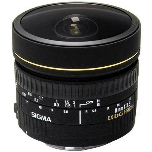 AF 8mm f/3.5 EX DG Circular Fisheye Lens for Nikon