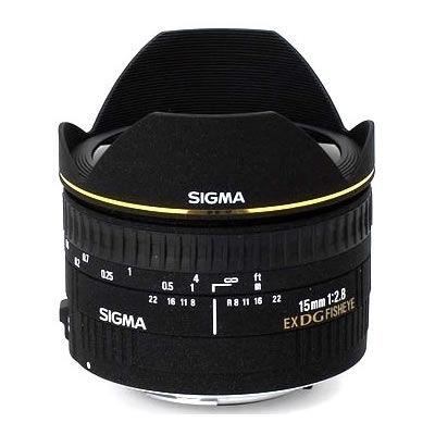 AF 15mm f/2.8 EX DG Fisheye Lens for Canon