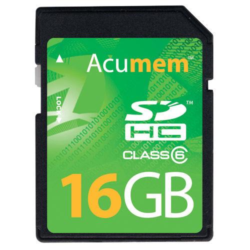 16GB SDHC card
