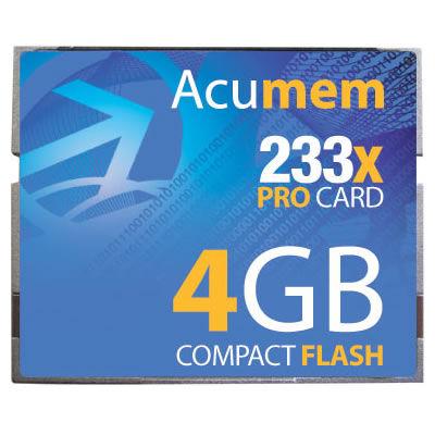 4GB CF Card (233X)