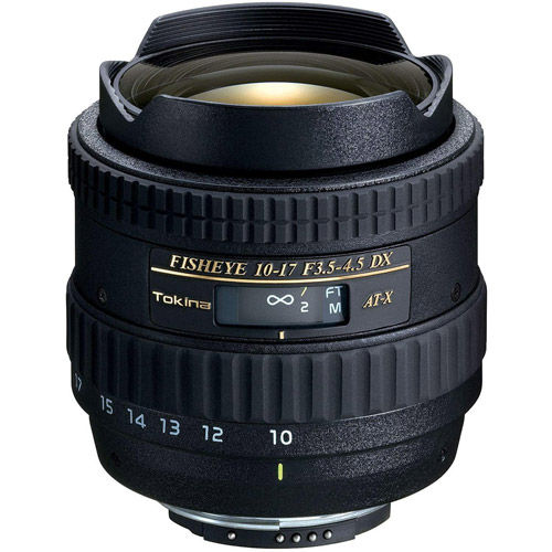 AT-X 10-17mm f/3.5-4.5 DX Fisheye Lens for Nikon