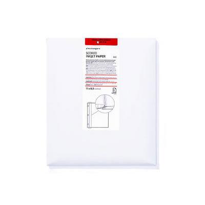 11x17 Landscape Scored Inkjet Paper 25 Sheets Doublesided Matte