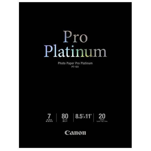 """8.5""""x11"""" Pro Platinum Paper PT-101 20 Sheets"""