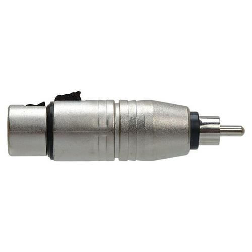 XLR F to RCA (m) Adapter
