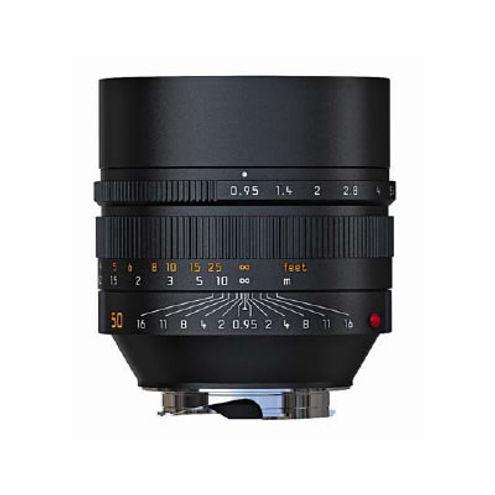 50mm f/0.95 ASPH Noctilux-M Black Lens (E60)