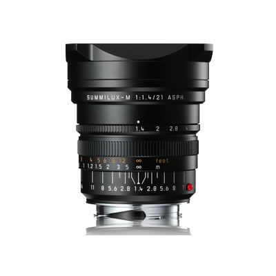 21mm f/1.4 ASPH Summilux-M Black Lens (S8)