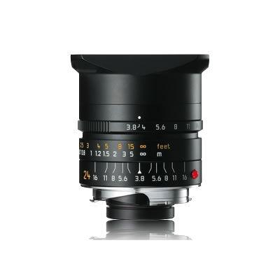 24mm f/3.8 ASPH Elmar-M Black Lens (E46)