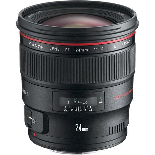 EF 24mm f/1.4L II USM Wide Angle Lens