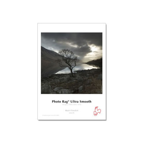"""36""""x39' Photo Rag Ultra Smooth 305gsm - Roll, 3"""" Core"""