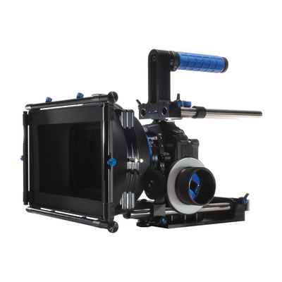 DSLR Cinema Bundle includes microMatteBox (works with most compact & full sized DSLRs)