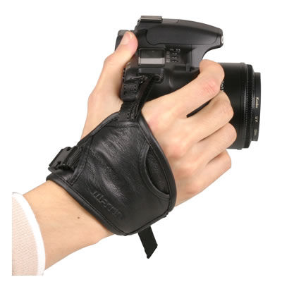 Leather Camera Grip - 6