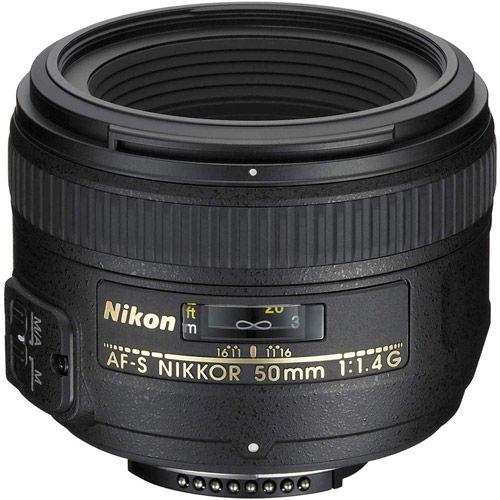 AF-S 50mm f/1.4 Nikkor Lens