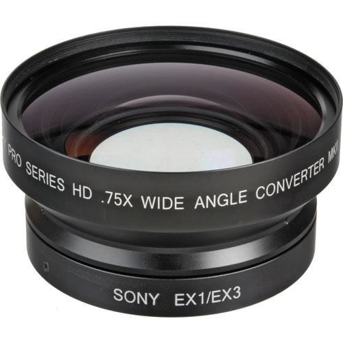 .75x HD Wide Angle Converter for Sony EX3/EX1/EX1R