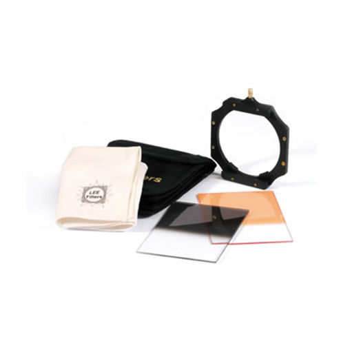 Starter Kit - includes assembled filter holder, a 0.6 ND grad, a cleaning cloth, and a Coral 3 grad
