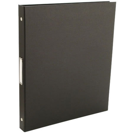 "Bex 1/2"" 8.5x11 Portrait 3-Ring Binder / Black"